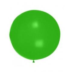 Ballon uni diam. 90 cm Vert Emeraude l'unité