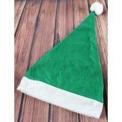 Bonnet noël en feutrine Vert