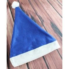 Bonnet noël en feutrine Bleu Noël 0,59 €