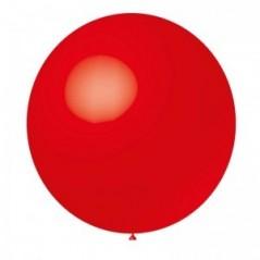 Ballon uni diam. 90 cm Rouge l'unité
