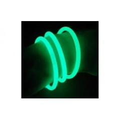Bracelet fluo vert la boite de 100 Fluos / Lumineux 4,99 €