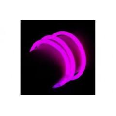 Bracelet Fluo rose bte de 100