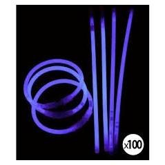 Bracelet fluo violet le 100 Fluos / Lumineux 4,99 €