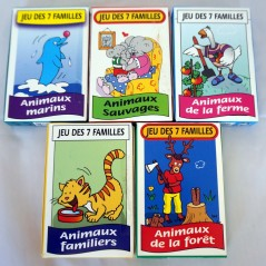 Jeux de 7 familles (l'unité) Jeux de société 0,48 €