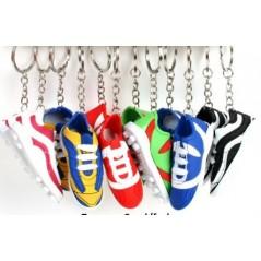 12 Porte-clés Chaussure de foot 7 cm