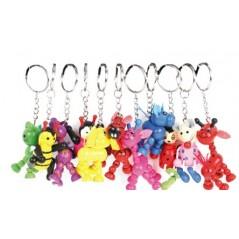 12 porte-clés animal bois Porte-clés 5,02 €