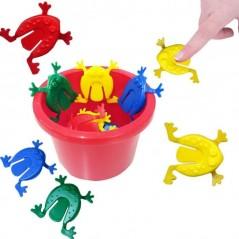 Jeu de saute grenouille 12 cm x 9 cm l'unité