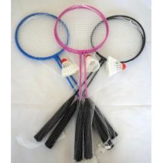 Badminton 2 raquettes + 1 volant 60 cm Plein air  1,67 €