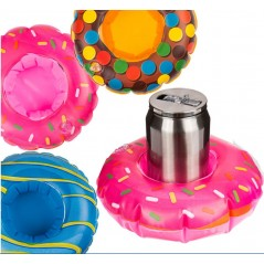 Support Bouteille Donut Gonglable 18 cm