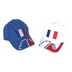 Casquette France avec Drapeau