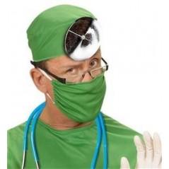 Lumière frontale docteur lance eau