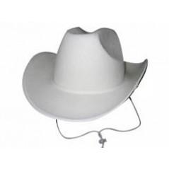 Chapeau Cow-boy blanc en feutre