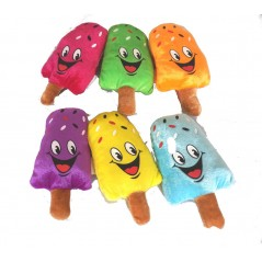 Peluche Glaces 16 cm assorties