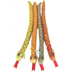 Peluche Serpent 40 cm couleurs ass Peluches 0,99 €