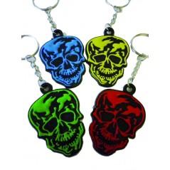 12 Porte-clés tête de mort 4.5 cm