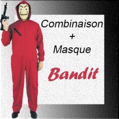Combinaison voleur + Masque Voleur Taille M/L