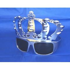pour vos soirées de l'Epiphanie ou soirée de Rois, les lunette de roi Argent sont indispensables