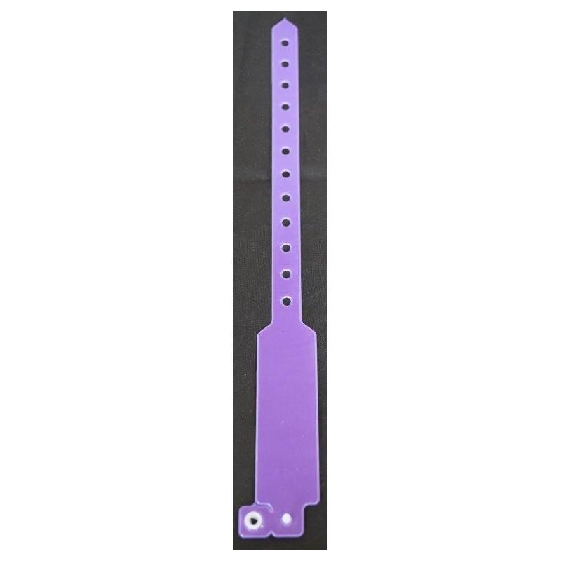 Bracelet inviol vinyle Violet Réflecteur Fluo Produits techniques 0,25 €