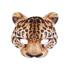 Demi-Masque EVA Leopard