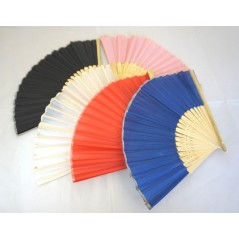 Lot de 5 Eventails couleurs assorties