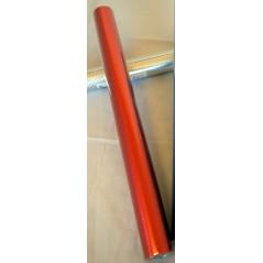Papier alu 2 faces étoilées Rouge 0.50 x 10 m