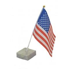 10 Drapeaux USA tissu 14 x 21 cm