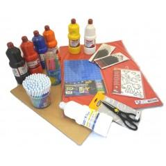 Activité Créative lot peinture et papier