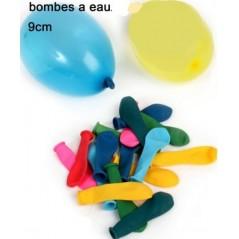 Bombe à eau 9 cm(sachet de 50 pièces) Jeux d'eau 0,48 €