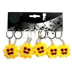 Lot de 12 porte-clés Soleil 4.5 cm Porte-clés 3,96 €