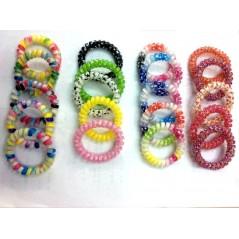 Bracelets torsades multicolores les 5 Jeux filles 0,18 €