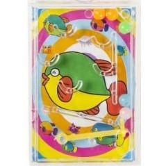 Mini flipper (4.5 x 9 cm) Pêche mixte 0,17 €