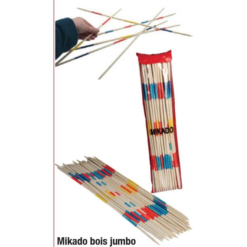 Mikado géant 50 cm (24 bâtonnets) Jeux bois 7,08 €