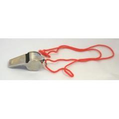 Sifflet métal arbitre avec cordon Plein air 0,80 €