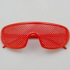 lunette novelty abeille rouge pour vos soirées à thème, tel que les party glass