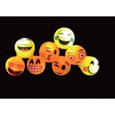 Bague lumineuse SMILEY Fluos / Lumineux 0,92 €