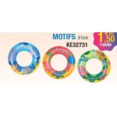 Bouée avec motifs (diamètre 51 cm) Ballons et Gonflables 1,50 €