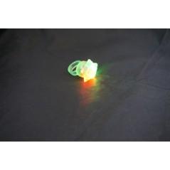 Bague lumineuse clignotante Etoile Fluos / Lumineux 0,70 €