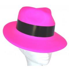 Chapeau gangster rose plastic Chapeaux 1,12 €