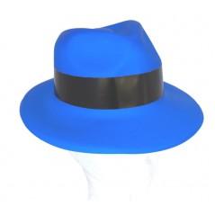 Chapeau gangster Bleu plastic Chapeaux 1,12 €