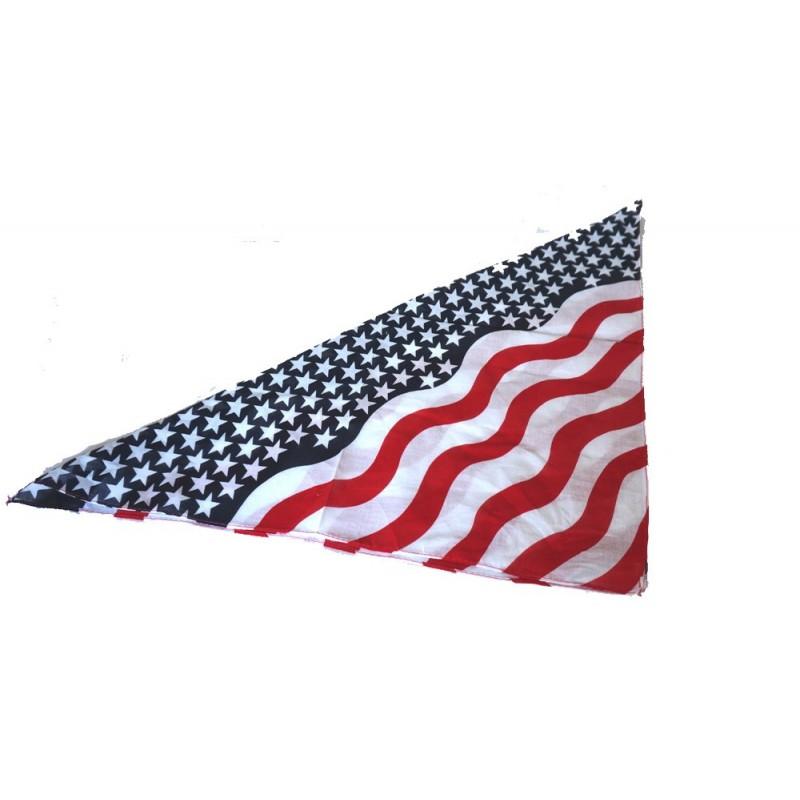 Foulard vagues usa 50 x 53 cm Américaine 0,69 €