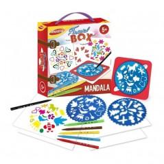 Mandala Joustra Box Travel 10 pièces Pochoirs 2,92 €