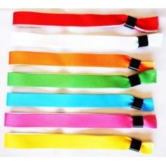 500 Bracelets satin doublé inviolables