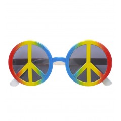 Lunette Peace and Love multicolore