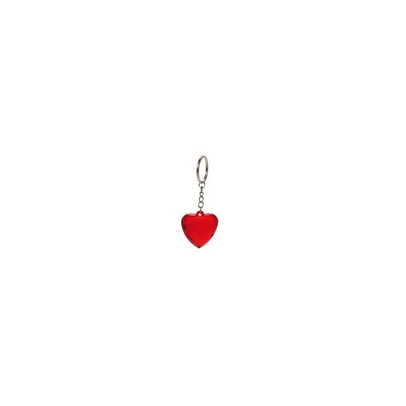 12 porte clés Coeur cristal Rouge 4 cm Porte-clés 3,80 €
