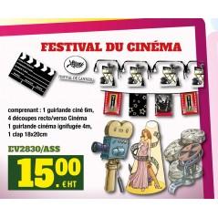 KIT FESTIVAL DE CANNES Cinéma 15,00 €