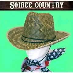 Country ,chapeau + bandana US