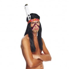 Bandeau indien adulte avec plumes Articles Kermesse, Travaux Manuels et Arts Créatifs 1,15 €