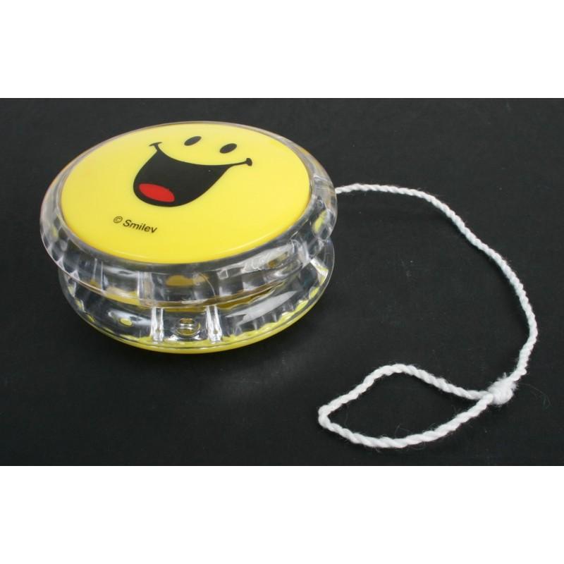 Yoyo débrayable et lumineux smiley 6 cm Jouets lumineux 0,88 €