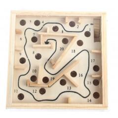 Labyrinthe en bois 11.5 cm x 11.5 cm
