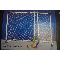 Set street hockey 2 cages+ 4 crosses + palets
